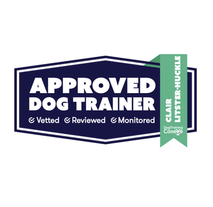 Dog Training College approved instructor shield